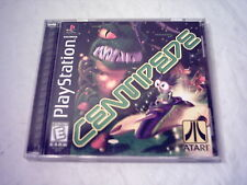 Sony Playstation Ps1 Video Game Centipede *Mint* Slus-00807 99172 Black Label