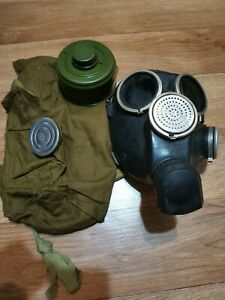Gas Mask Soviet russian military GP-7 Black rubber 3 size