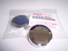 Kappe chrom 2 Stück Lenkerenden LS650 VS1400 VS750 VZR orig. Suzuki Abdeckung