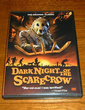 The Dark Night of the Scarecrow (DVD, 2010)