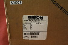 New Bison 014-482-3019 1/3Hp 91Rpm Parallel Shaft 115 Vac Gear Motor 19:1 Ratio