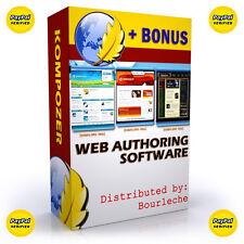 Web Publisher Editor Creator HTML CSS Design Publish Professional Software - #B1