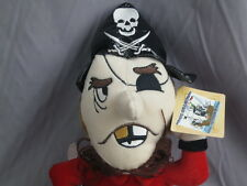 BIG NEW K&K GAMES THE PIRATE COLLECTION GET HOOKED EYE PATCH BEARD PLUSH STUFF