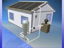4 - 4' x 12'  Inground Pool Solar Panel Heater System (8-2X12)