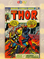 The Mighty Thor #208 (8.0) VF 1st 4th Dimensional Man App 1973 Bronze Age