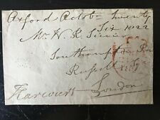 3rd EARL WILLIAM HARCOURT - ARMY FIELD MARSHAL - SIGNED ENVELOPE FRONT