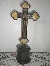 ANCIEN CHRIST EN BRONZE ET REGULE