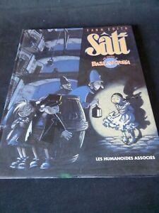 BASIL ET VICTORIA N°1 SATI - Yann Edith - Les Humanoïdes Associés (1990)