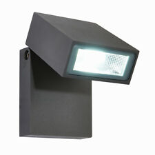 SAXBY MORTI Outdoor Garden Porch Security Adjustable Tilt LED Wall Light IP44