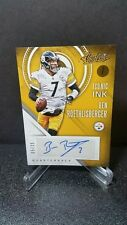 2016 PANINI ABSOLUTE BEN ROETHLISBERGER ICONIC INK AUTOGRAPH SERIAL # 5/25
