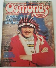 OSMONDS' WORLD MAGAZINE - No. 30 April 1976