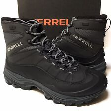 New Merrell Thermo Chill Mid Shell Waterproof Boots J16461 Black Size: 9.5 NIB