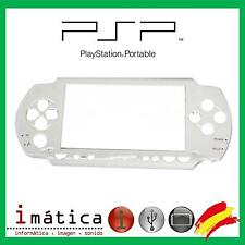 CARCASA FRONTAL DE REPUESTO PARA SONY PSP 1000 1004 FRONT FAT BLANCO WHITE COVER