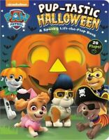 Paw Patrol: Pup-Tastic Halloween: A Spooky Lift-The-Flap Book (Board Book)