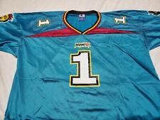 Champion Men's XL XFL Memphis Maniax Football Jersey WWE Vince McMahon