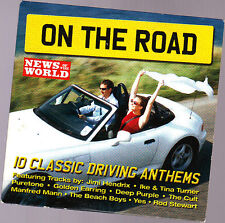 Promo CD, On the Road, Beach Boys, Rod Stewart, Yes, Puretone, 10 Tracks