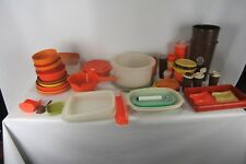 Large Lot of 70+ Vintage Tupperware Kitchen Items