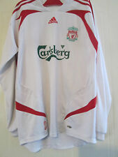 Liverpool 2006-2007 Away LS Football Shirt Size Large /40051