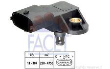 FACET Sensor, presión de sobrealimentación OPEL ASTRA RENAULT AUDI A3 10.3082