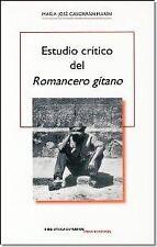 """ESTUDIO CRÍTICO DEL """"ROMANCERO GITANO"""". ENVÍO URGENTE (ESPAÑA)"""