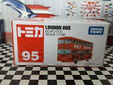 TOMICA #95 LONDON BUS DOUBLE DECK 1/130 SCALE NEW IN BOX