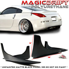 Fit for 03 04 05 Nissan 350Z Fairlady Z Z33 JDM Rear Bumper Mud Guards Spats