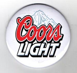 """Coor's Light Jumbo Fridge Magnet Beer Mat Bar   3"""" 75mm  Blade  Sub Badge lager"""