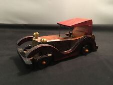 Wood Crafted Vintage – Classic Automobile / Car Toy / Display (WC-17-9)