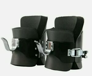 Pair Anti Gravity Inversion Boots Therapy Hang Spine Ab Chin Up Gym mailed USA