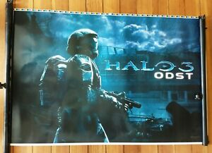 """Halo Reach / Halo ODST 2 sided poster print-proof 38""""x25"""""""