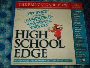 The Learning Company Mind Power 10 Subjects High School Edge PC Win 7 CD Set
