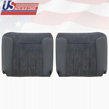 1994-1996 Dodge Ram 2500 Passenger and Driver Bottom Cloth Seat Covers in Gray