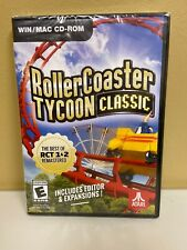 Video Game - Computer PC CD-ROM - ROLLERCOASTER TYCOON CLASSIC - New and Sealed
