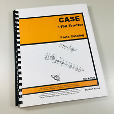 Case 1190 Tractor Parts Manual Catalog Book Exploded Views Names Numbers Case Ih