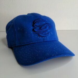 Omaha Storm Chasers New Era 9TWENTY MLB MiLB Youth Kids Blue Sparkle Hat Cap