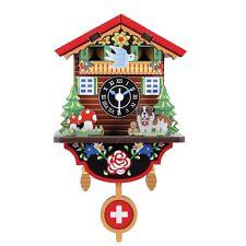 Kikkerland Schweizer Haus Uhr Mache Deine Eigene Einfach DIY Craft Dekor Projekt