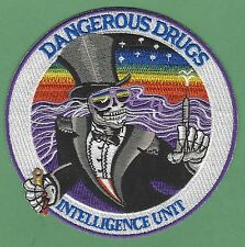 DEA DRUG ENFORCEMENT ADM DANGEROUS DRUGS INTELLIGENCE UNIT POLICE PATCH