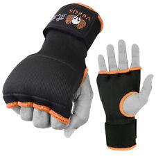 Inner Gloves Martial Arts Kickboxing Gel Punch Mitts Pair Muay thai Orange-Med