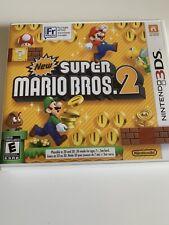 New Super Mario Bros. 2 (Nintendo 3DS, 2012) CIB Authentic Tested