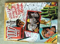 a3 comic 2000 ad judge dredd prog 592 september 17th 1988