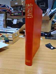 Senator stamp album  standard  Stanley Gibbons in Red no leaves