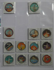 1960's Dare Foods Space Orbit Near set of 45 Coins Including Rare Khrushchev