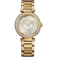 Juicy Couture Luxe Couture Watch 1901151 Gold Plated + Crystals £150- New In Box