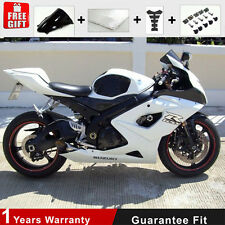 Injection Fairing Kit 05 06 for Suzuki GSX-R1000 K5 K6 Plactic All White Frame