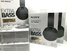 BRAND NEW Sony MDR-XB950N1 EXTRA BASS Noise-Canceling Bluetooth Headphones Gray