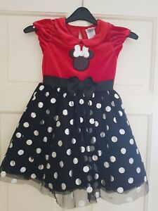 Baby Girl Minnie Mouse Party Costume Outfits Princess Mini Dress Summer age 5