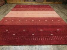 Multicolor Modern Gabbeh Tibetan Oriental Area Wool Rug Handmad 7x10 00006000