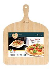 Pala Tagliere Vassoio per pizza in legno di betulla 30x42 cm con impugnatura