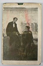 "VINTAGE 1920 "" IN LINCOLNS CHAIR "" BOOK WITH DUST JACKET BY IDA M .TARBELL"