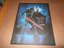Celebration 4 art print Star Wars hand signed by Dave Prowse UACC AFTAL Dealer